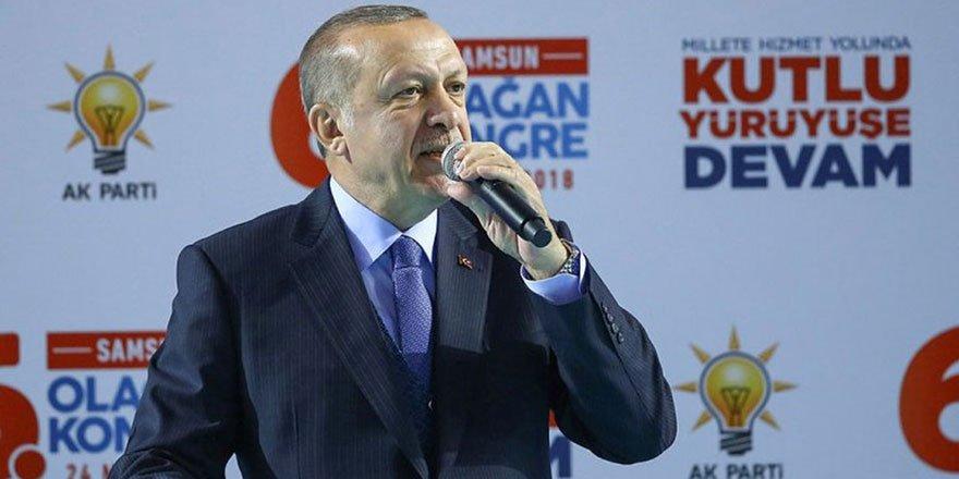 Erdoğan: Kimse Türkiye'ye 'Suriye'de istila hareketi yapıyor' diyemez