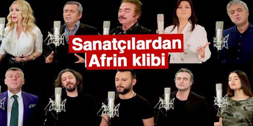 İşte Afrin türküsü- 'Milletin Duası' türküsü