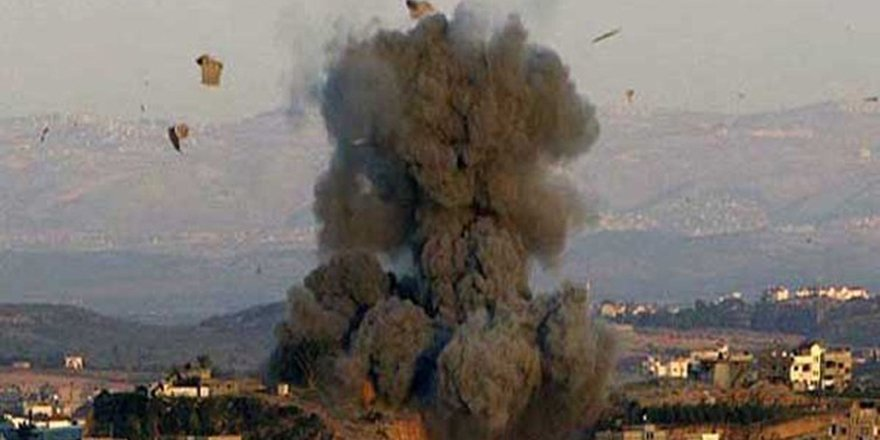 İsrail savaş uçakları Gazze'ye bomba yağdırıyor