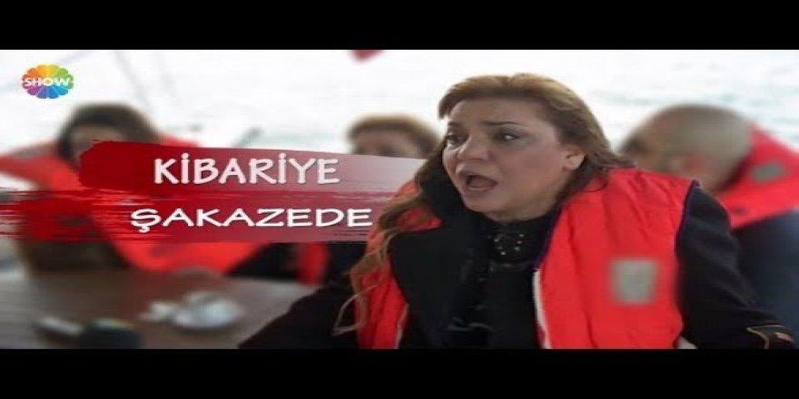 Kibariye İstanbul Boğazı'nın ortasında kalıyor!