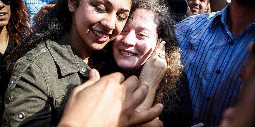 Filistinli cesur kız Tamimi serbest bırakıldı