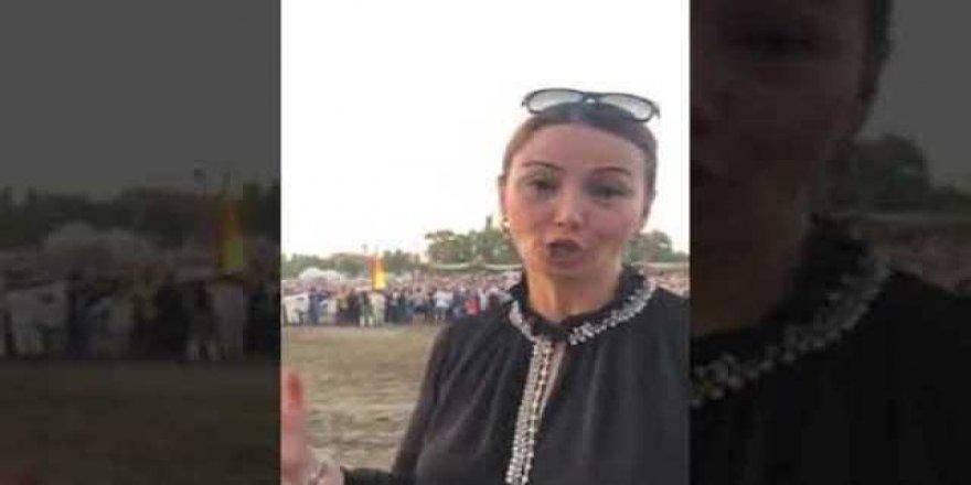 Milletvekili Ganire Paşayeva Turan kurultayin anlatır