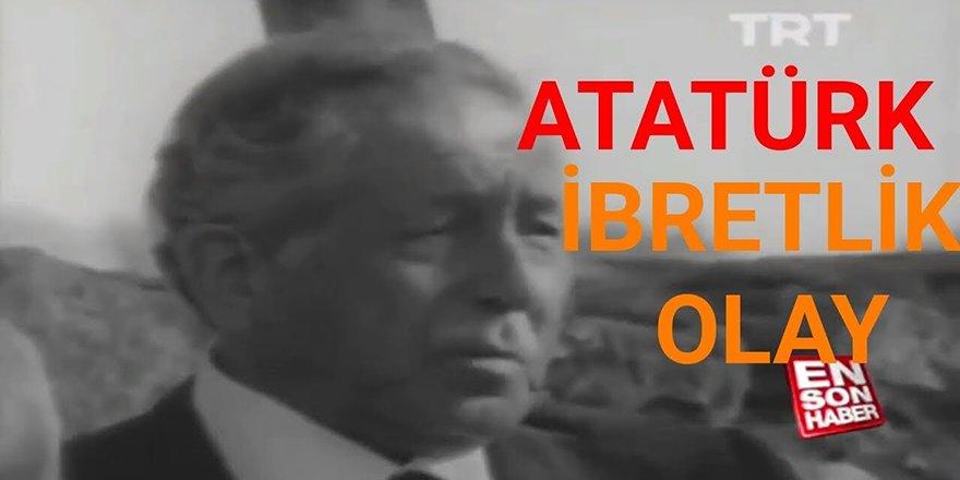 Atatürk İmama Sorar İçki Neden Haram, İbretlik