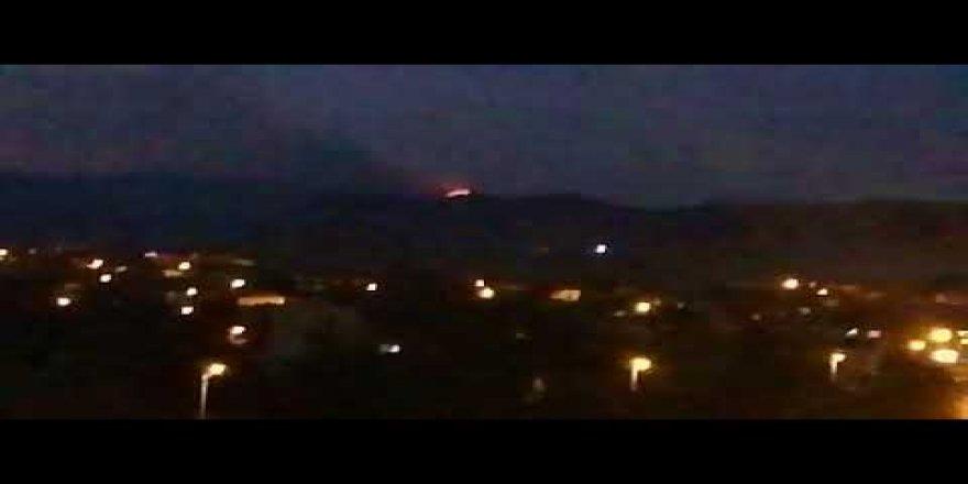 Ankara Hasanoğlan'da yangın paniği