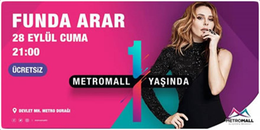 FUNDA ARAR Konseri 28 Eylül 2018