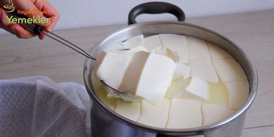 Evde En Kolay Peynir Yapımı