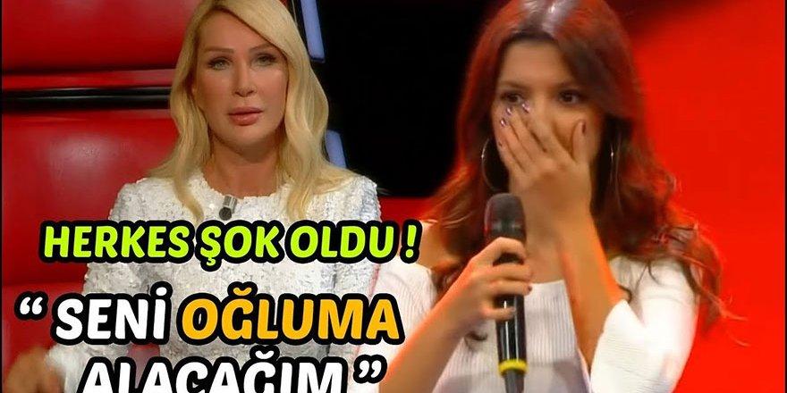 Seda Sayan Oğluna Kız Beğendi! O Ses Türkiye