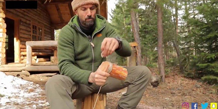 Serdar Kılıç Çam Ağacından Bardak Yapımı