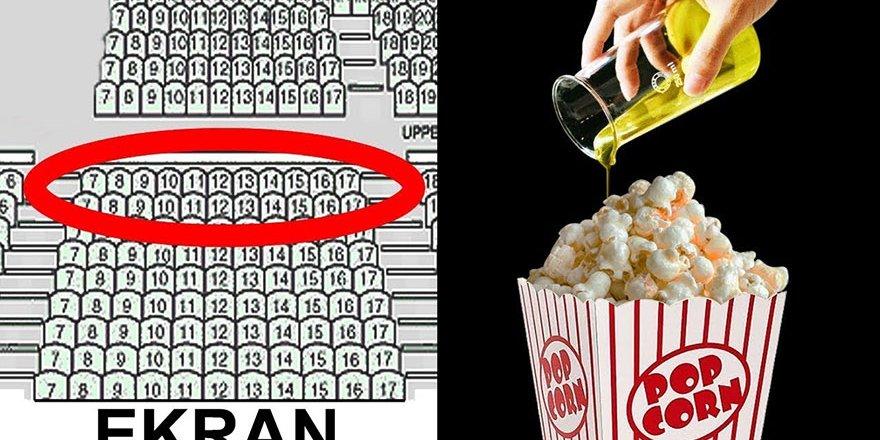 Sinema Salonlarının Bilmenizi İstemediğiniz 10 Sır