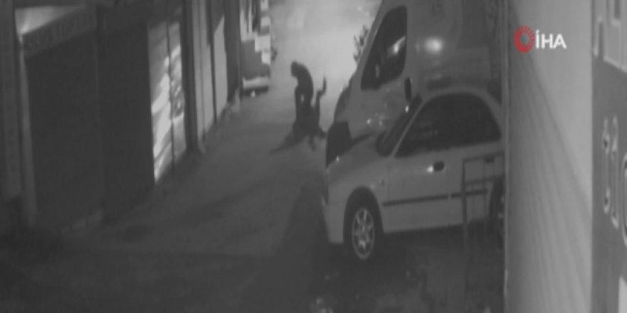 Ankara'da şehir eşkiyası genç kadına arkasından saldırdı