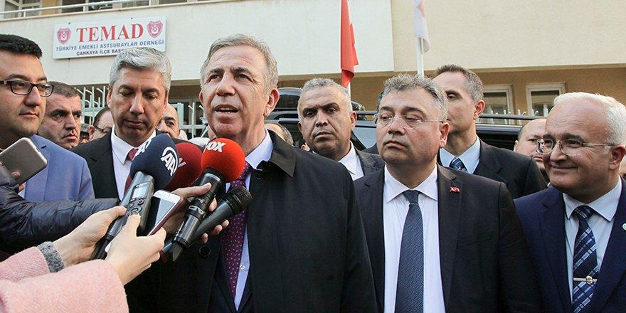 """Mansur Yavaş'tan Özhaseki'ye """"arkamızda ağamız var"""" cevabı"""