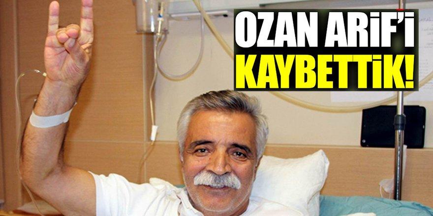 Ozan Arif'in ölmeden önceki son görüntüleri ve konuşması