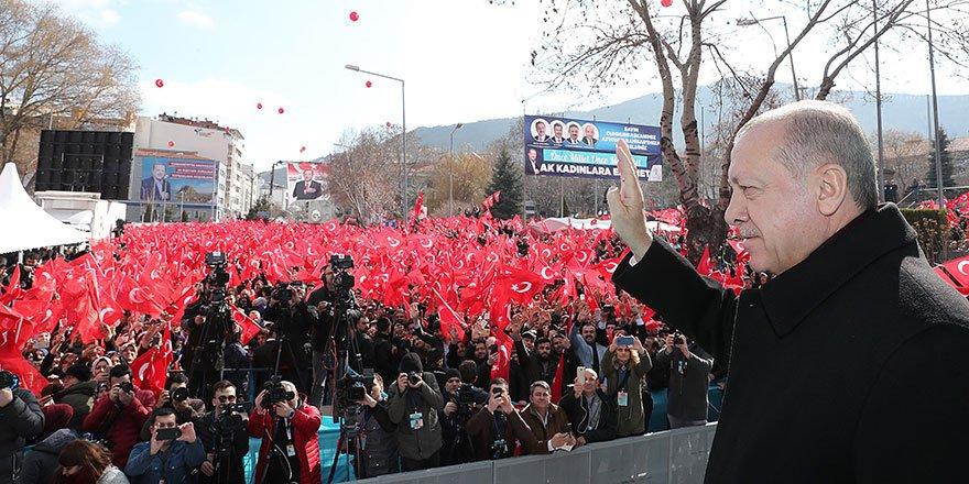 Cumhurbaşkanı Erdoğan: '10 yıllık rezerv tespit ettik'