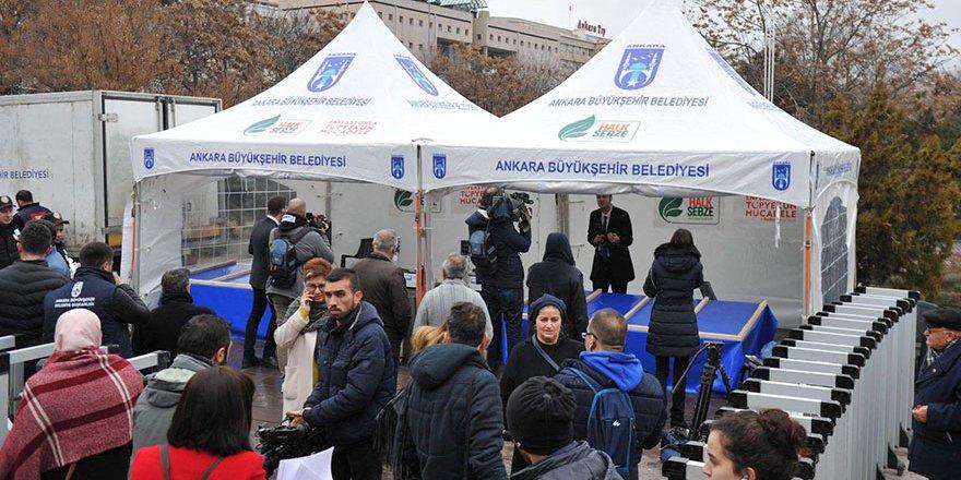 Ankara tanzim satış çadırında vatandaşlarla konuştuk
