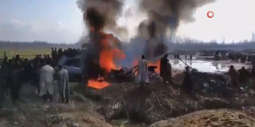 Pakistan savaş uçakları kalktı: Hindistan savaş uçağı düşürüldü
