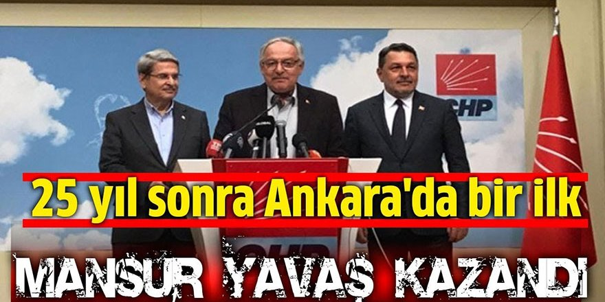 CHP'den Ankara açıklaması