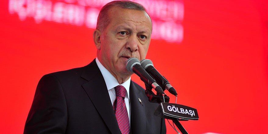 Cumhurbaşkanı Erdoğan'dan ağlatan şiir