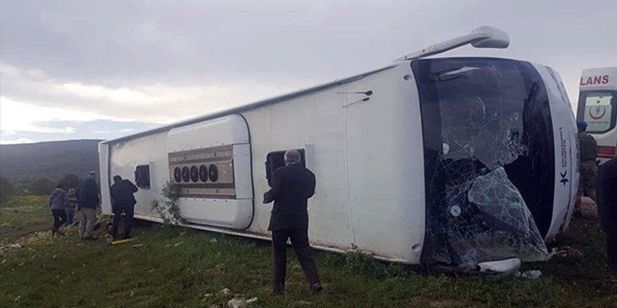 Tokat'ta cenaze dönüşü kaza: 7 ölü,29 yaralı