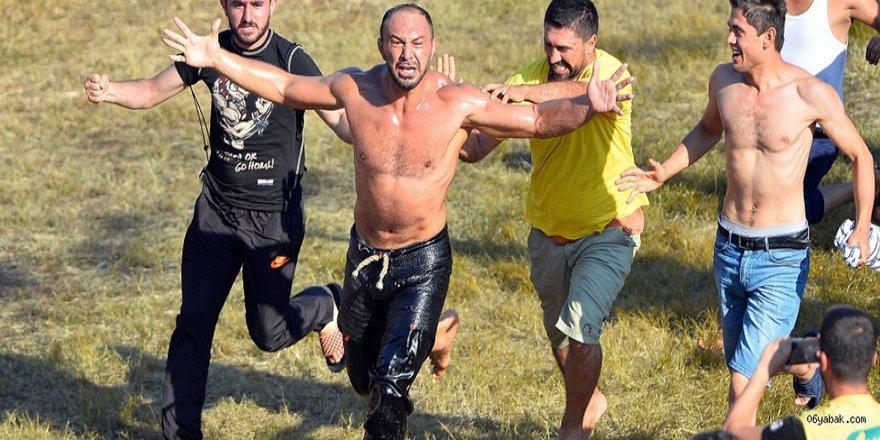 Başpehlivan Ali Gürbüz: 'Asla pes etmedim ve bu savaştan galip geldim'