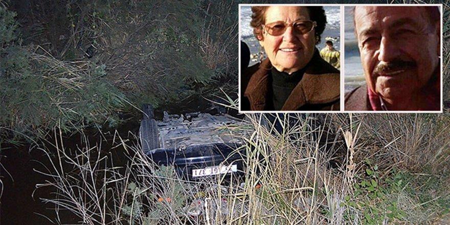 Kocasının cesediyle birlikte 25 saat kurtarılmayı bekledi