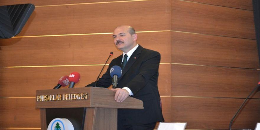 Pursaklar Belediyesi Süleyman Soylu'yu ağırladı