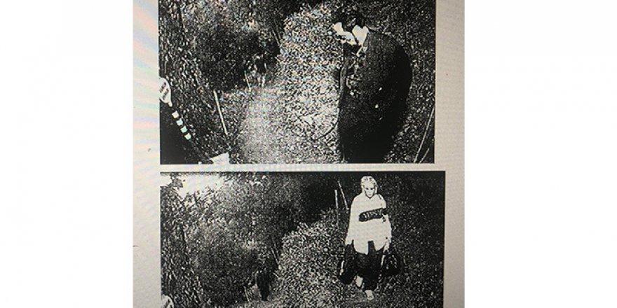 Adnan Oktar'ın villasına düzenlenen operasyon sırasında kaçış görüntüleri ortaya çıktı