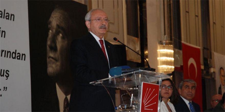 Kılıçdaroğlu: 'Biz bir kişiyi olağanüstü yetkilerle donatıyoruz, sonuç felaket olur'