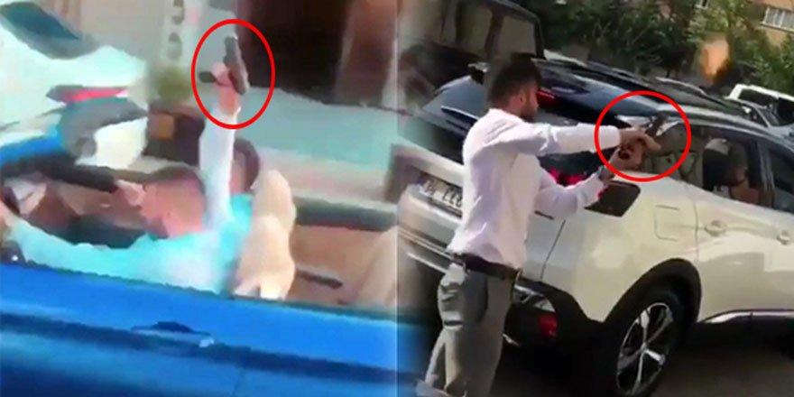 İstanbul'daki düğün konvoyundaki şok görüntüler kameraya yansıdı