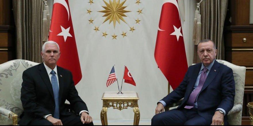Cumhurbaşkanı Erdoğan ve Pence görüşmesi başladı