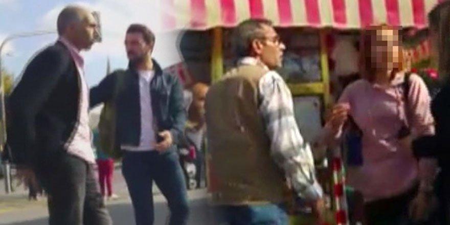 Kadıköy meydanında bir babanın dramı