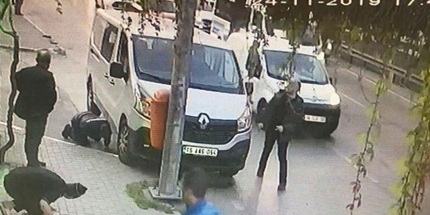 Bursa'da dehşet anları kameraya yansıdı