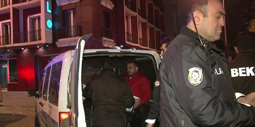 Ankara'da bekçiyi darp eden şüpheliler, silahını alıp kaçtı