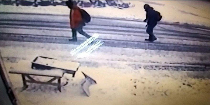 Bursa'da kaybolan dağcıların son görüntüleri