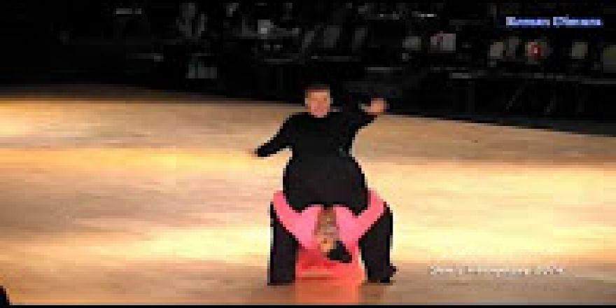 Eşsiz bir dans gösterisi