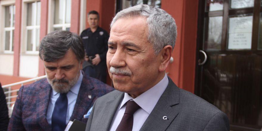 Bülent Arınç, Bolu'da hakim karşısına çıktı