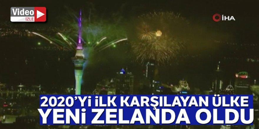2020'yi ilk karşılayan Yeni Zelanda oldu
