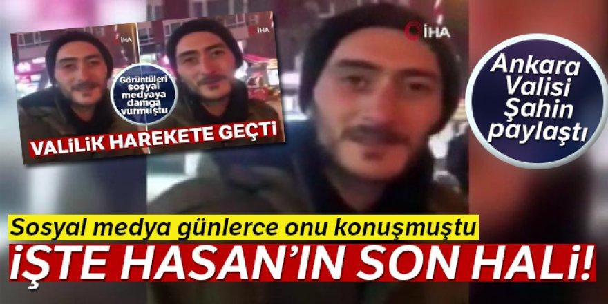 Ankara Valisi paylaştı! İşte sosyal medyanın konuştuğu Hasan'ın son hali