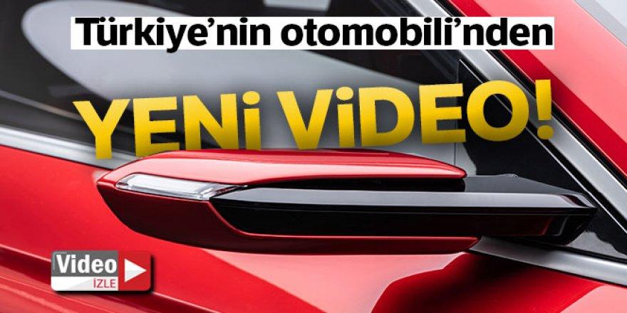Yerli otomobille ilgili yeni video paylaşıldı