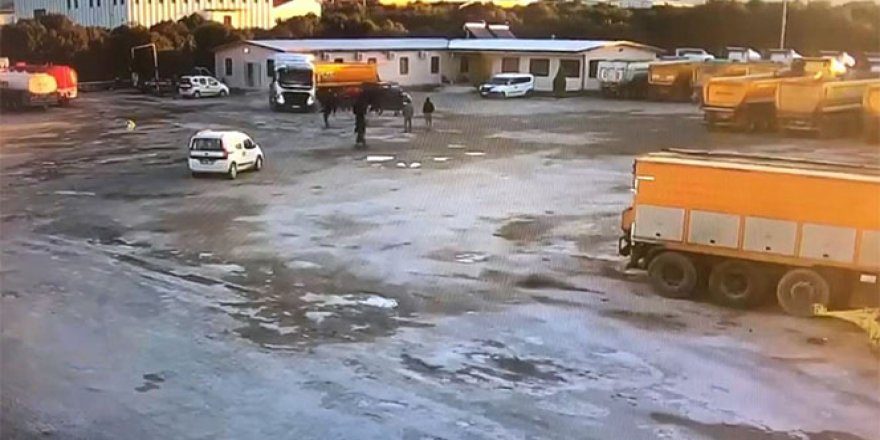 Kızgın şoför dehşet saçtı
