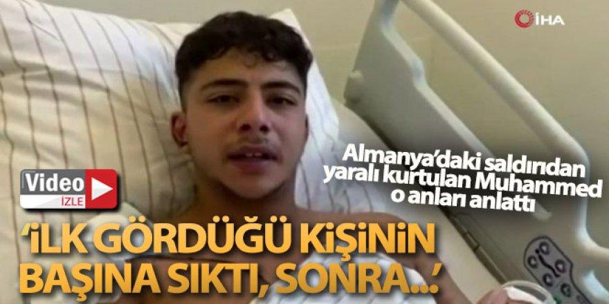 Almanya'daki saldırıdan yaralı kurtulan Türk o anları anlattı