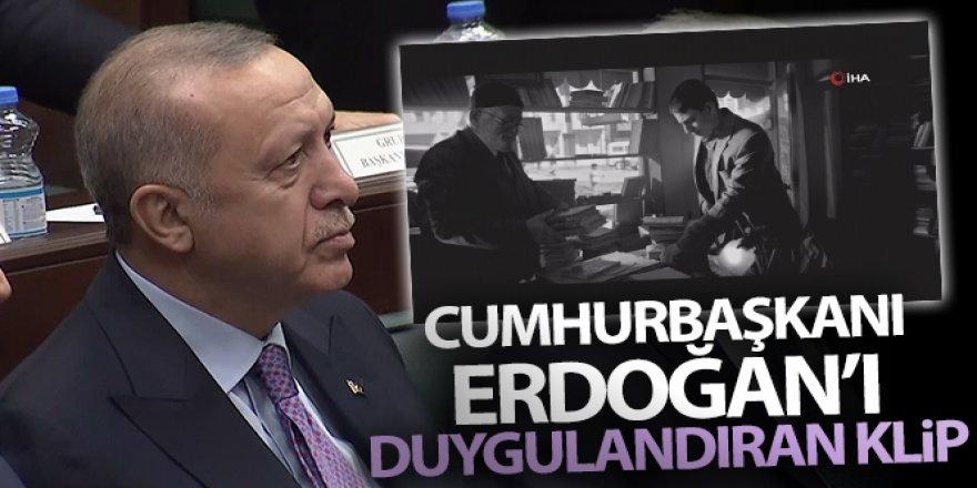 Cumhurbaşkanı Erdoğan'ı duygulandıran klip