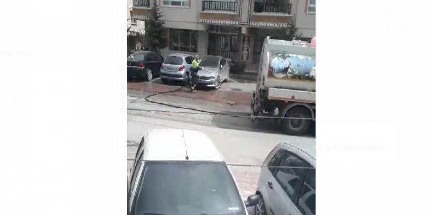 Keçiören sokakları köşe bucak temizleniyor