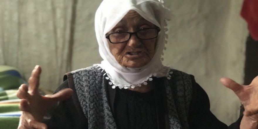 94 yaşındaki Hesna ninenin yaşam mücadelesi