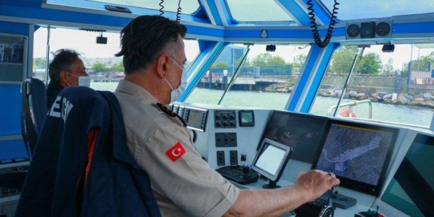 Kılavuz kaptanlardan virüs önlemi