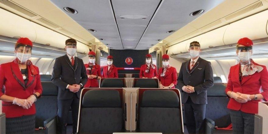Türk Hava Yolları'ndan yolculara hijyen paketi