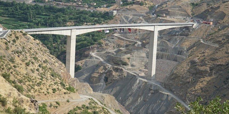 Türkiye'nin en yüksek köprüsü!