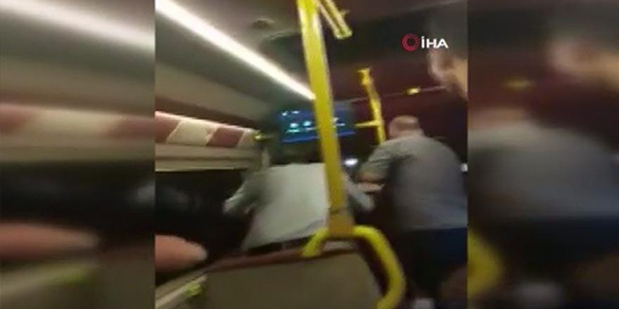 Toplu taşımada maske tartışması kanlı bitti