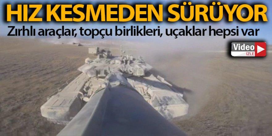 Azerbaycan-Türkiye geniş kapsamlı ortak askeri tatbikatlar sürüyor