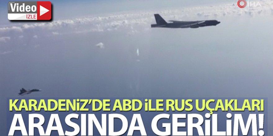 Karadeniz'de ABD ile Rus uçakları arasında gerilim
