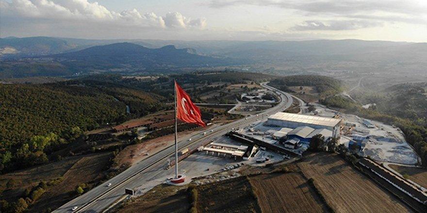 Samsun-Ankara karayolunda milli gurur!